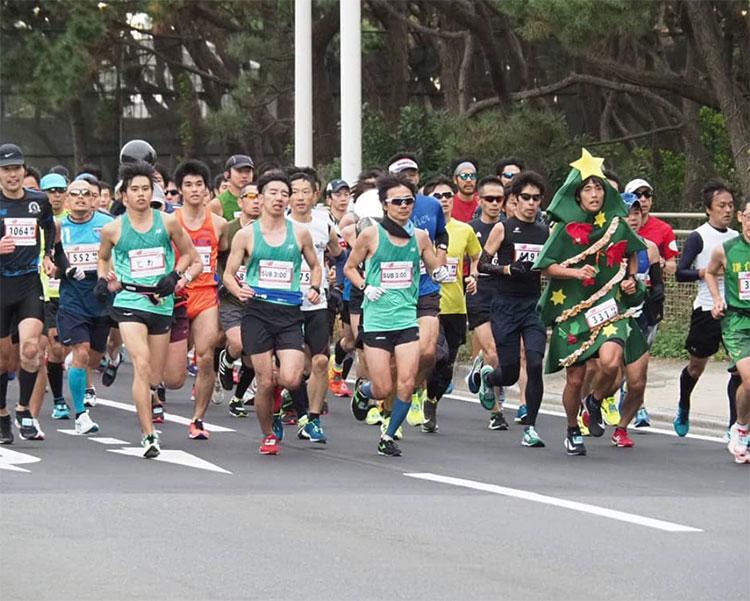 マラソンランナーたち