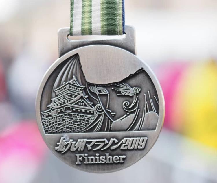 マラソンのメダル