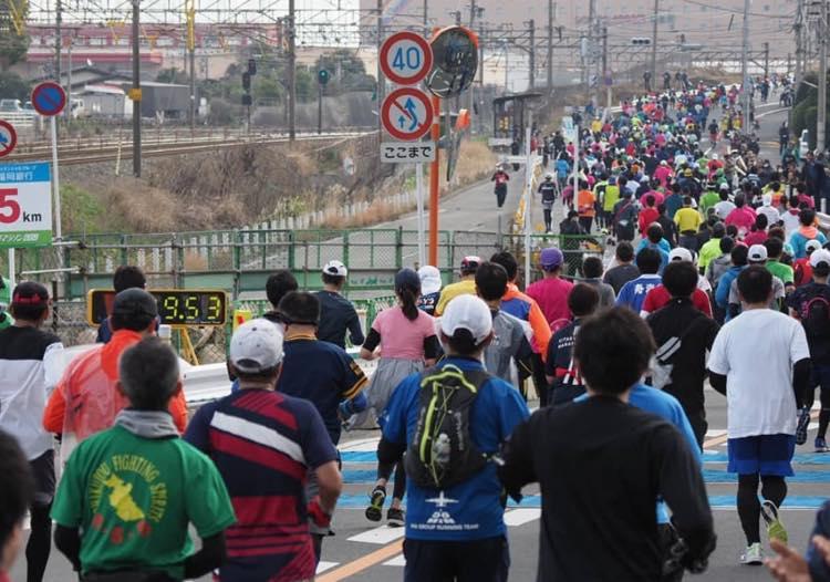 マラソンの15キロ地点