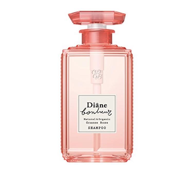 ダイアン「ボヌールグラースローズの香りダメージリペアシャンプー」