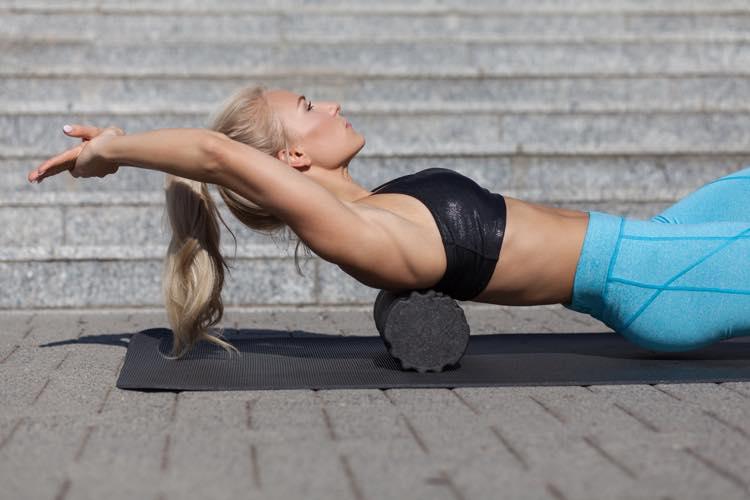 背中の筋膜リリース