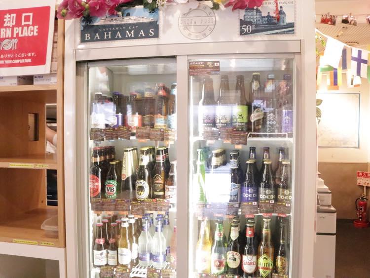 ビールの棚