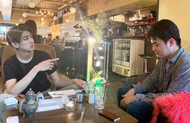 石田と藤田の会話1