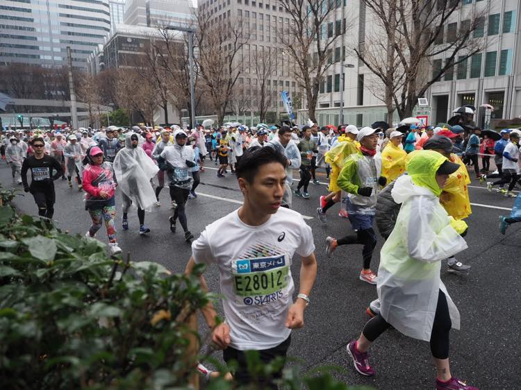 東京マラソンの様子1