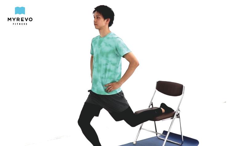 腸腰筋のストレッチ
