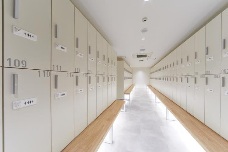 woman locker