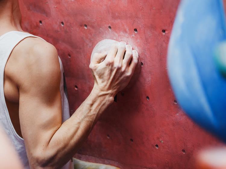 ボルダリングに必要な筋肉