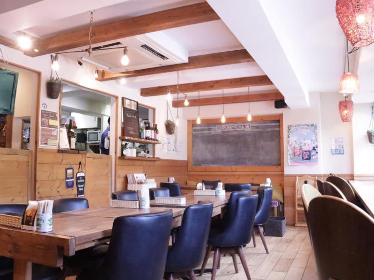 カフェスペースの写真