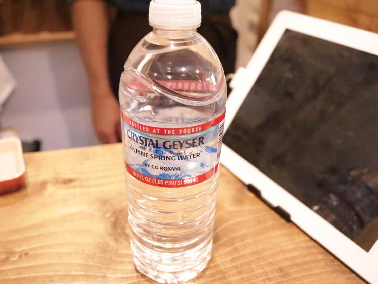 サービスのお水