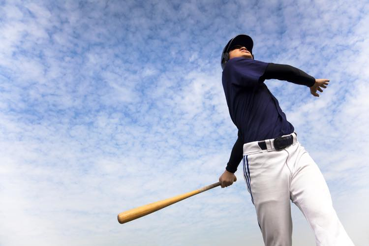 野球のスイング