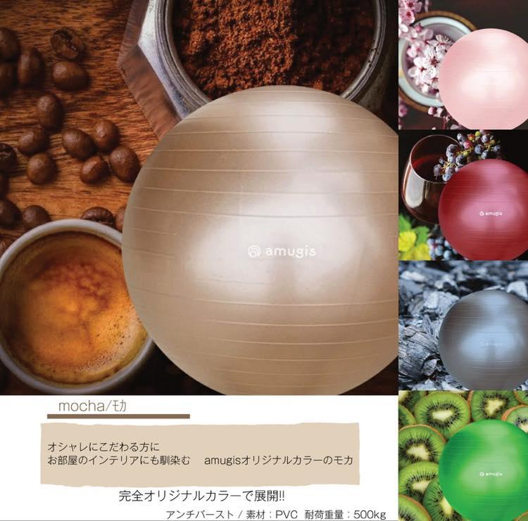 (バランスボールと矯正ベルトの商品画像)1