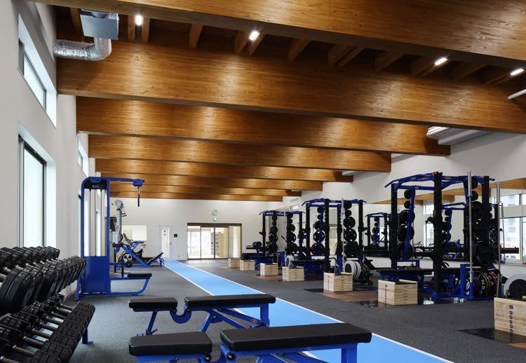 NSCAジャパン1階トレーニングルーム