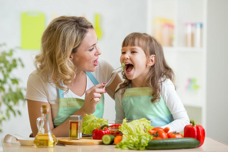 子供との食事