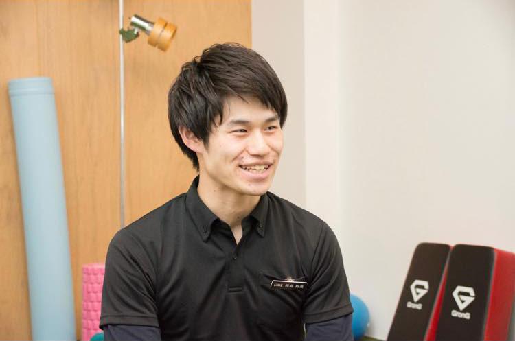 LiME岡島さんのインタビュー風景