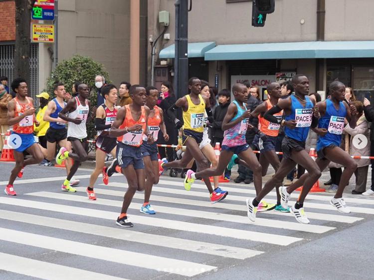 東京マラソンのトップランナーたち