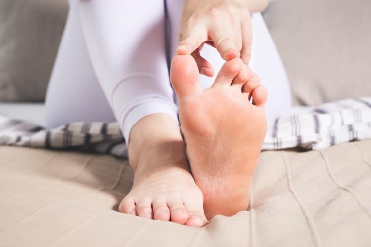 足指のストレッチ