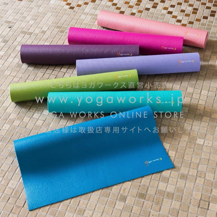 <ヨガワークス(Yogaworks) ヨガマットスタンダード 3.5mm>